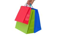 Holidays paper-bags 8288 Royalty Free Stock Photos