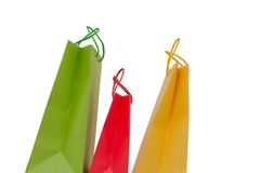 Holidays paper-bags 8295 Royalty Free Stock Photos