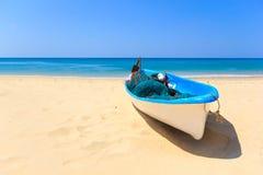 Holidays paradise beach. Holidays sunny tranquil paradise beach Royalty Free Stock Images