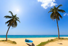 Holidays paradise beach Royalty Free Stock Image