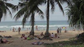 Holidays in Phuket stock footage