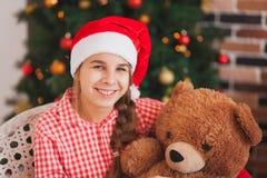Holidays, presents, christmas, childhood and Stock Photography
