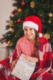 Holidays, presents, christmas, childhood and Stock Photo