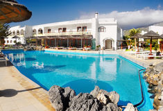 Holidays Resort Crete Royalty Free Stock Images