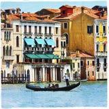Holidays in romantic Venice Stock Image