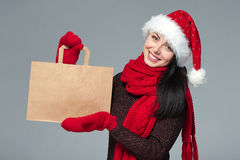 Holidays sale, shopping, Christmas concept Stock Photography