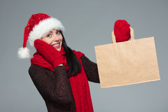 Holidays sale, shopping, Christmas concept Royalty Free Stock Photography