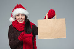 Holidays sale, shopping, Christmas concept Royalty Free Stock Photo