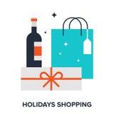 Holidays shopping Royalty Free Stock Image