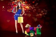 Holidays Shopping Stock Photography