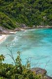 Holidays at the Similan Islands Stock Photography
