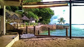 Holidays In Thailand on island call Phuket. royalty free stock image