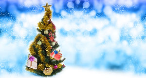 Holidays Tree.Merry Christmas Royalty Free Stock Images