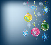 Holidays winter background. Abstract celebratory winter illustration on a dark background Royalty Free Stock Images