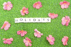Holidays stock photo