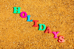 Holidays Stock Image