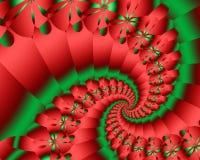HolidaySpiral Stock Illustratie