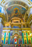 The holiest place in St Isaac's Cathedral Royalty Free Stock Image