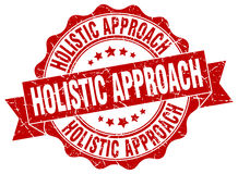 Holistic approach stamp. Sign. seal Royalty Free Stock Photo