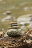 Holistic Zen stones keep in balance Stock Photography