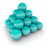 Holistic Balls Pyramid Stacked Whole Total Balance Stock Photo