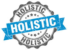 Holistic stamp Royalty Free Stock Photos