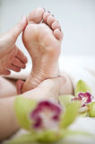 Holistic treatment 01 Royalty Free Stock Photo