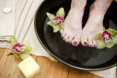 Holistic treatment 02 Royalty Free Stock Images