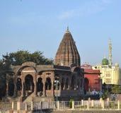 Holkar Chatri (机盖)印多尔 免版税图库摄影