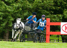 Holker Hall National Carriage Driving Trials 2010 Royalty Free Stock Photography