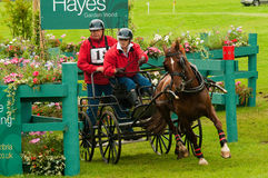 Holker Hall National Carriage Driving Trials 2010 Royalty Free Stock Photos
