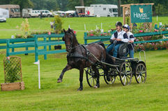 Holker Hall National Carriage Driving Trials 2010 Stock Image