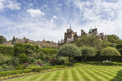 Holker Hall & Summer Garden Royalty Free Stock Image
