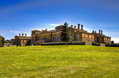 Holkham Hall Lizenzfreie Stockfotos