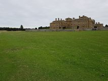 Holkham mansion stock photo