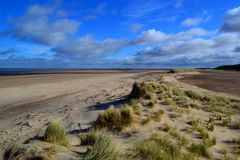 Holkham Sand Dunes Stock Photo