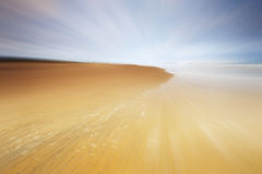 Holkham Sands. Summers day on the beach with a bit of motion blurr added stock images