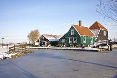 holländare houses traditionell Nederländerna Royaltyfri Bild