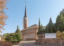 Holländare omdanad kyrka i västra Barkly Arkivfoto