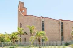 Holländare omdanad kyrklig Humansdorp öst arkivbilder