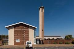 Holländare omdanade kyrkliga Birchley i Kempton parkerar royaltyfri foto