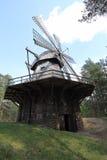 Holländare-stil väderkvarn från Latgale Royaltyfri Foto