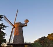 Holländare Windmilll i Golden Gate Park i San Francisco Arkivfoton