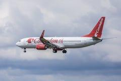 HolländareCorendon flygplan Fotografering för Bildbyråer