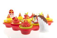 Holländer Sinterklaas-kleine Kuchen Lizenzfreie Stockbilder