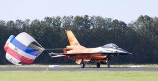 Holländer zeigen allein TeamF-16 an stockfotos