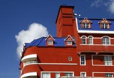 Holländische Architektur, Curaçao Lizenzfreies Stockfoto
