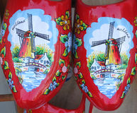 Holländische hölzerne Schuhe lizenzfreies stockbild