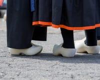 Holländische hölzerne Schuhe Lizenzfreie Stockfotografie