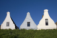 Holländische historische Fassaden Lizenzfreie Stockfotografie
